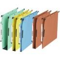 l'oblique Dossiers suspendus AZV pour armoire, fond 30, bleu