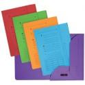 ELBA ULTIMATE Chemises 2 rabats, format A4, jaune