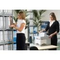 Fellowes Boîte d'archivage Bankers Box, gris/blanc,(B)105 mm