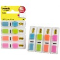 3M Bandes adhésives Post-it Indexn, 11,9 x 43,2 mm, dévidoir