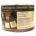 HELLMA tablettes de chocolat fines belges, dans une boîte