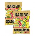 HARIBO Mini l'ours d'or, contenu: 400 Mini sachets à 10 g