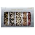 HELLMA sélection boîte, contenu: 200 chocolats dans le car-