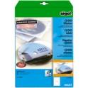 sigel Etiquettes pour CD/DVD, blanc, couche spéciale