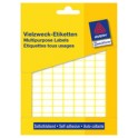 AVERY Zweckform étiquettes multi-usages, 37 x 5 mm, blanche,