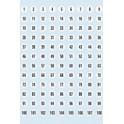 HERMA étiquettes à chiffres 1-540, diamètre: 8 mm, en papier