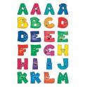 HERMA lettres adhésives A-Z, hauteur: 20 mm, papier