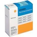 etiquettes de numérotation 0-999, 10 x 22 mm, noir,bleu HERMA