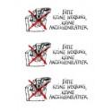 """HERMA Hinweisetiketten """"Keine Werbung/Anzeigenblätter"""""""