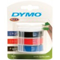 DYMO Ruban pour étiqueteuse, largeur 9 mm, longueur 3 m