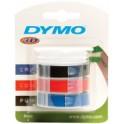 DYMO Ruban pour étiqueteuse 3D, largeur 9 mm, longueur 3 m