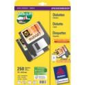"""AVERY Zweckform étiquettes Stick+Lift pour disquettes 3,5"""","""