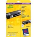 AVERY Zweckform étiquettes Stick+Lift, 63,5 x 8,5 mm, blanc