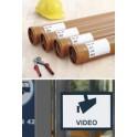 HERMA Etiquettes Outdoor en film plastifié SPECIAL, 63,5 x