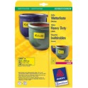 AVERY Zweckform étiquettes film, 99,1 x 42,3 mm, jaunes