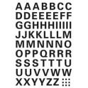 HERMA lettres autocollantes A-Z, (H)5 mm