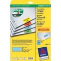 AVERY Zweckform étiquettes, 45,7 x 21,2 mm, bleu,