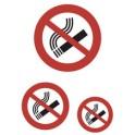 """HERMA étiquettes de messages """"Ne pas fumer"""", film, résistant"""