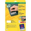 AVERY Zweckform Etiquettes de sécurité, 63,5 x 33,9 mm,