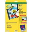 AVERY Zweckform mini étiquettes, 38,1 x 21,2 mm, jaune,