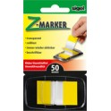 "sigel Index repositionnable ""Z-Marker"" film Color-Tip, jaune"