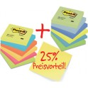 3M Post-it notes adhésives Promotion Pack 654ENDRP, 76x76 mm