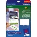 AVERY Zweckform Cartes de visite Quick & Clean Recycling