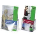 sigel Présentoir brochures de table, acrylique, DL, avec 1