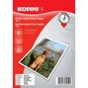 Kores Foto-Papier, format A4, 180 g/m2, mat