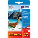 AVERY Zweckform BIG PACK papier photo jet d'encre,10 x 15 cm