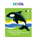 HEYDA pochette assortie de couleur, (l)250 x (L)350 mm