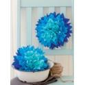 HEYDA Emballage papier de soie, bleu, (L)500 x (H)700 mm