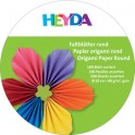 HEYDA Origami Feuilles pliables, rond, 150 mm