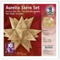 "URSUS Papiers origami étoile Aurelio ""Amos"", chamois/marron"