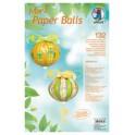 """URSUS Designstreifen Mini Paper Balls """"Millefleurs"""""""