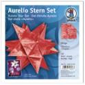"""URSUS Papiers origami étoile Aurelio """"Wega"""", rouge"""