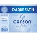 CANSON Calque satin , 240 x 320 mm, 70 g/m2
