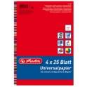 """herlitz Papier multifonction """"Colourmix"""", A4, 80 g,"""