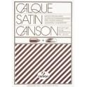CANSON Bloc papier calque satin lisse, 90 g/m2, 50 feuilles