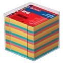 herlitz Boîtier pour bloc-notes, en plastique, 90 x 90 mm,