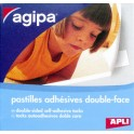 agipa Pastilles photo adhésives double face,