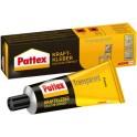Pattex colle de contact, transparent, avc solvant, tube 50 g