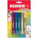 "Kores Colle liquide ""Glitter Glue"", couleurs assorties"