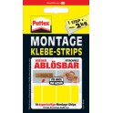 Pattex pastilles adhesives pour montage, detachables, jaune