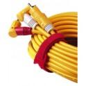 hama attache-câbles velcro, 145 x 11, couleurs assorties