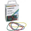 WEDO bracelets élastiques, couleurs assortis, tailles mix,