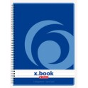 herlitz Carnet x.book A5, 80 pages, quadrillé