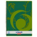 herlitz Recycling Bloc collège x.book, A4, 80 feuilles,