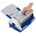 LEITZ plastifieuse à froid CS9, jusqu'au format A4,gris/bleu