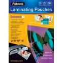 Fellowes pochettes à plastifier, autocollantes, A3, 250 mic